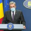 Marcel Vela cu mască de protecție pe față, la Guvern