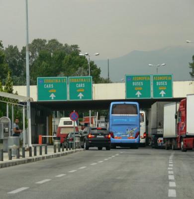 Trecere în Grecia pe la granița vama, PTF-ul Promachonas-Kulata