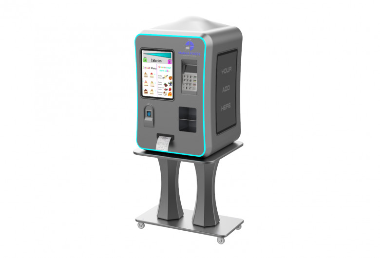 Futuristic Vending Machine, automat de alimente imprimate 3D