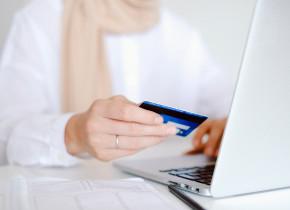 Plată online, cumpărături cu cardul, calculator, laptop, datorii, taxe, impozite, ghiseul.ro