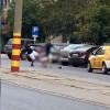 Taximetrist bătut de doi tineri