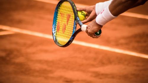 Jucător de tenis, rachetă, sportiv