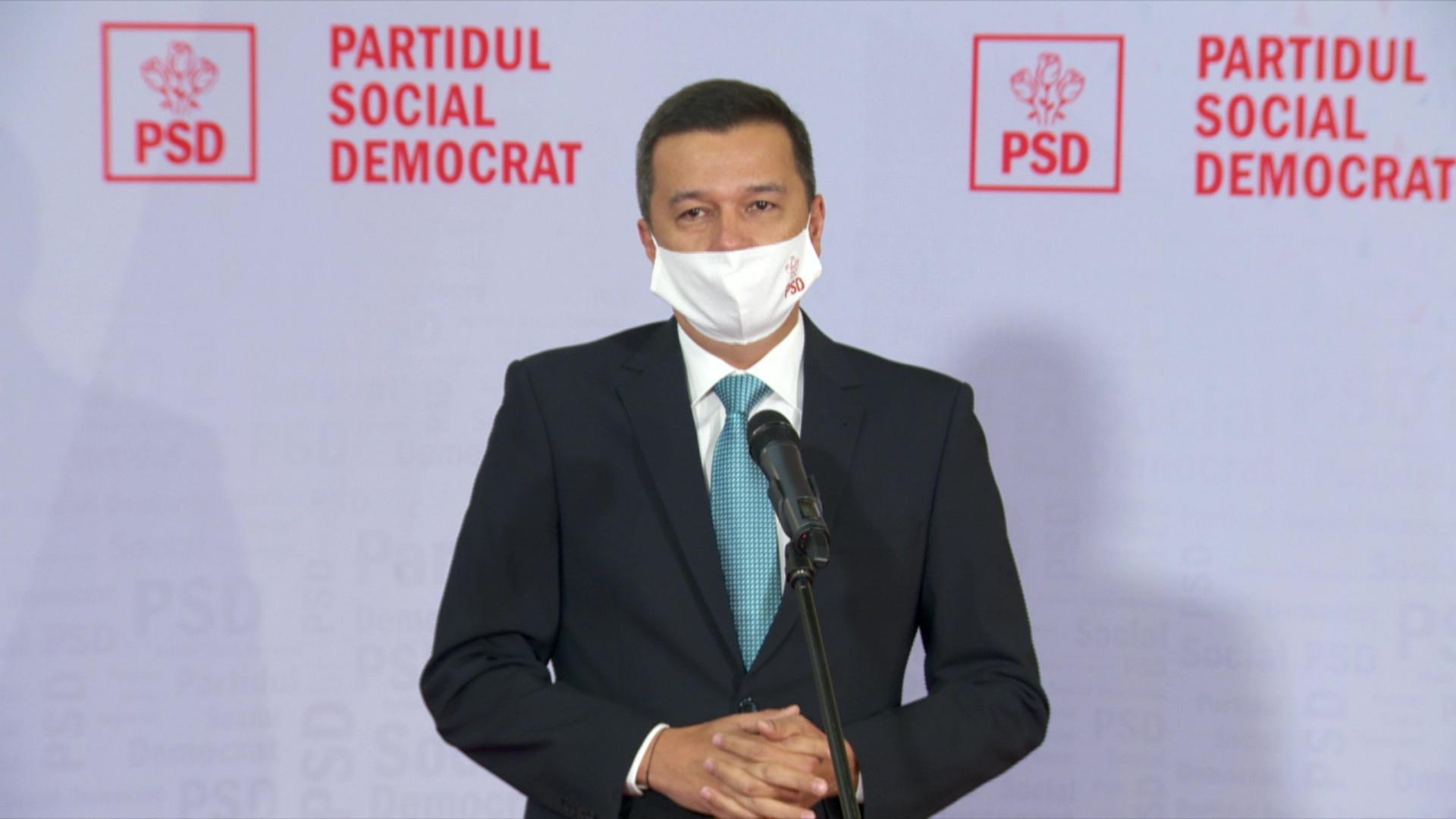 Votul pe moțiunea de cenzură va fi dat marți. Grindeanu: Guvernul Cîțu este un dezastru pentru români