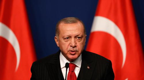 Președintele turc Recep Tayiip Erdogan