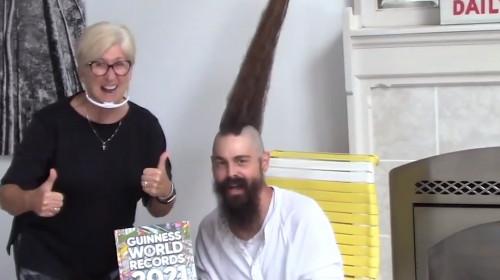Cea mai lungă creastă de păr, Joseph Grisamore