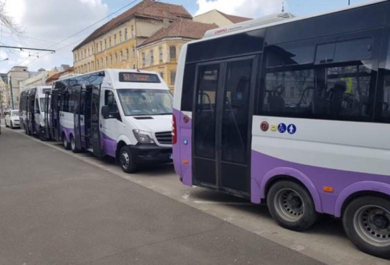 Microbuze școlare în Timiș