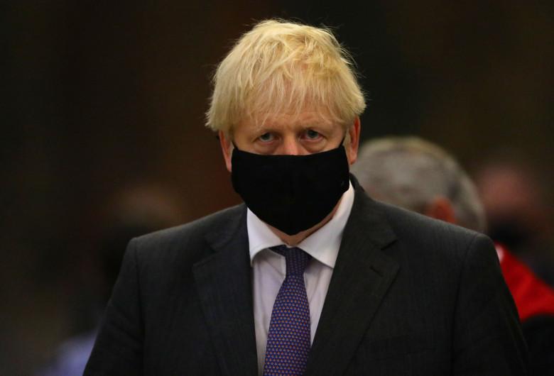 Premierul britanic, Boris Johnson