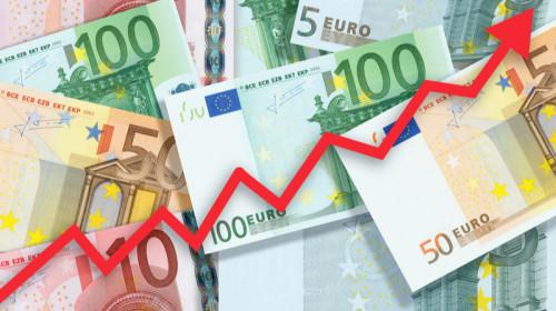 Creșterea euro, curs valutar, moneda unică, bani