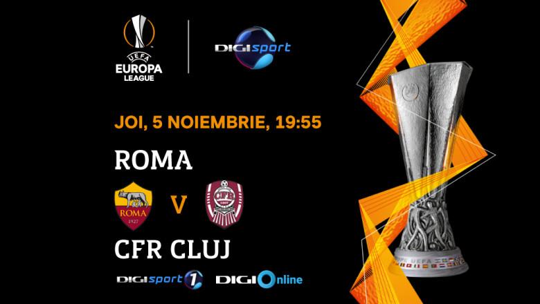 UEL_AS Roma-CFR Cluj
