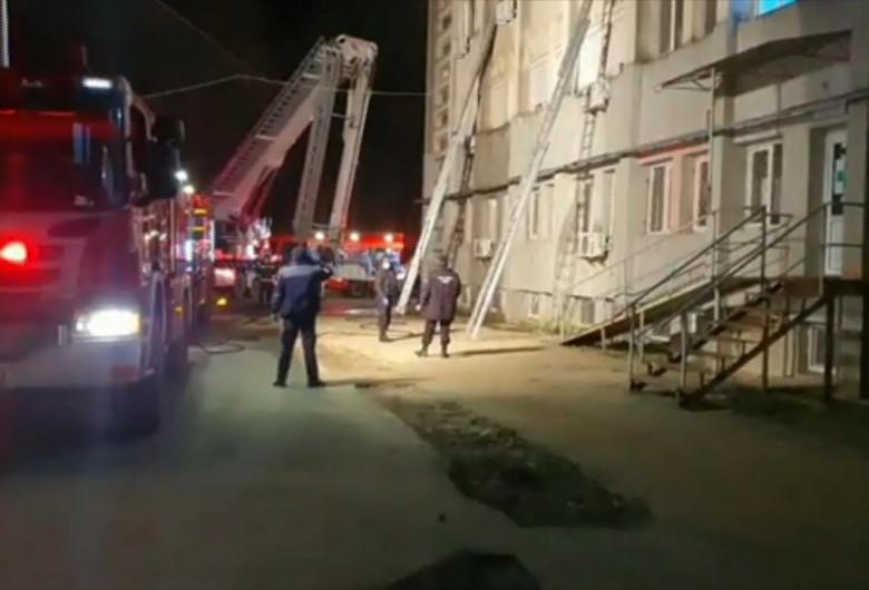 Incendiu la secția ATI din Piatra Neamț