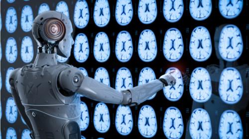 Inteligență artificială, robot în medicină, sanitar, doctor, medic, creier, boli, pacienți, afecțiuni
