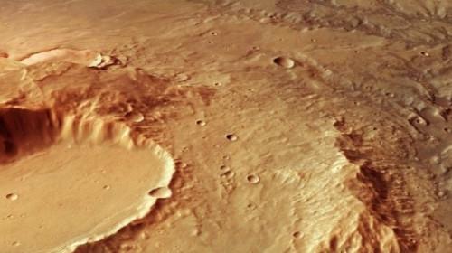Suprafața planetei roșii Marte