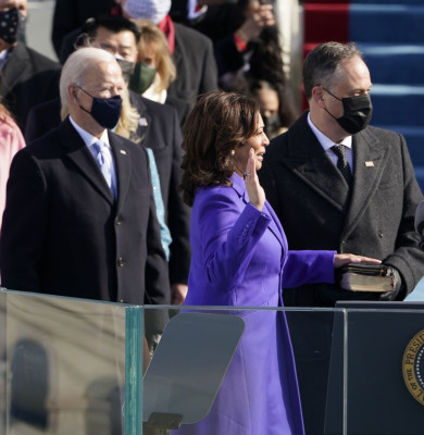 Biden Sworn-in as 46th President of the United States, Washington, District of Columbia, USA - 20 Jan 2021