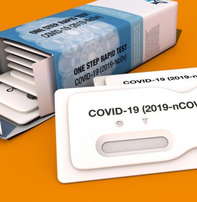 Test rapid antigen pentru coronavirus, COVID-19, SARS-CoV-2
