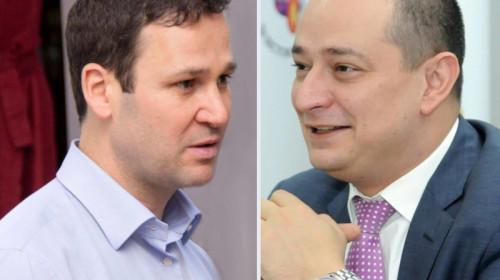 Robert Negoiță cu Daniel Băluță