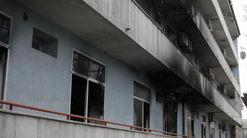 Incendiu la Institutul Matei Balș