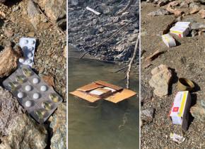 Cutie cu medicamente în Lacul Tarnița, poluare pe apă