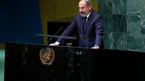 Nikol Pashinyan twittr