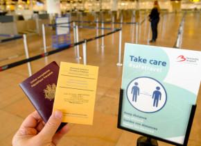 Pașaport cu certificat de vaccinare