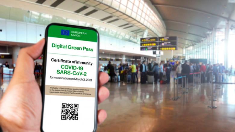 Digital Green Certificate, pașaport de vaccinare, certificatul digital verde, coronavirus, COVID-19, călătorii, turism, SARS-CoV-2