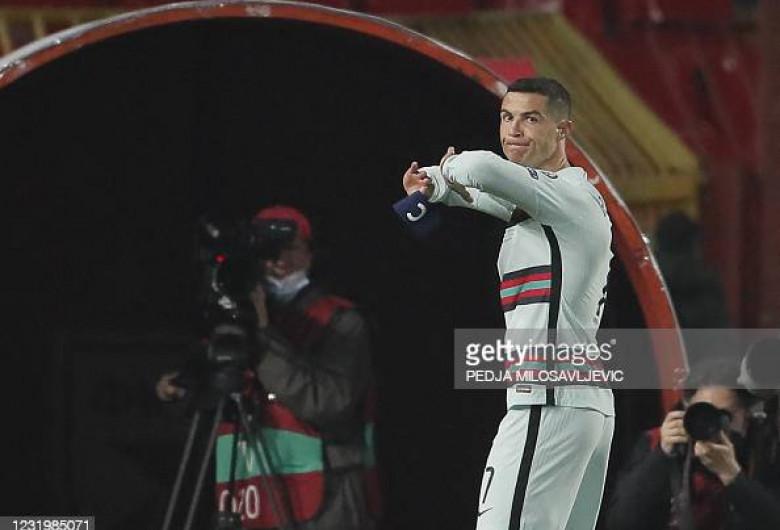 Banderola lui Ronaldo
