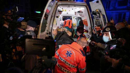 Pacienți evacuați de la Spitalul Foișor