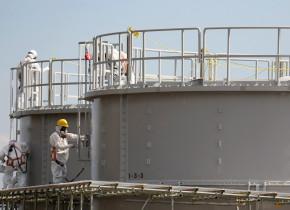 Rezervoare apă contaminată Fukushima
