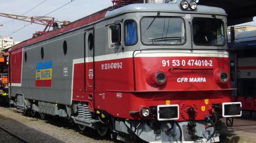 CFR Marfă, tren, locomotivă, transport feroviar