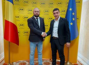 George Simion Dan Rădulescu AUR