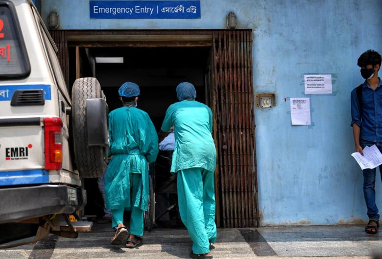 Spital de Covid în India
