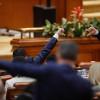 Vot în Parlament, plen, ședință comună a Senat - Camera Deputaților
