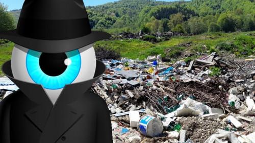 Primăria Soveja premiază fotografii cu cei care aruncă deșeuri gunoaie