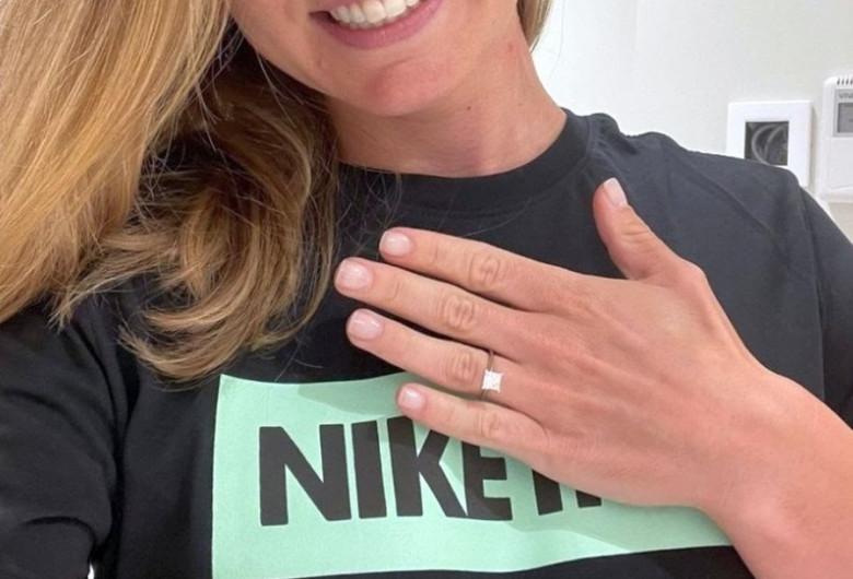 Simona Halep cu inel de logodnă