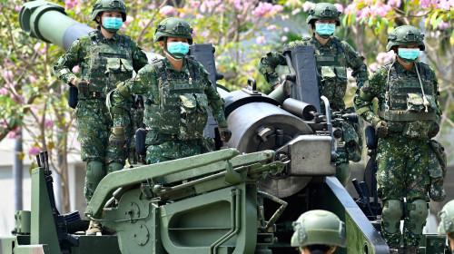 Soldați din Taiwan, trupe militare, război, conflict, blindate, armament, exerciții militare, China