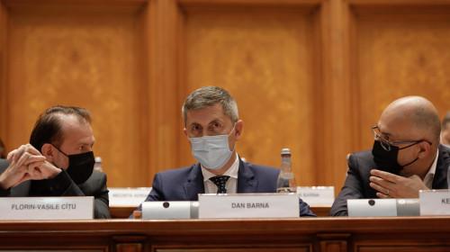 Florin Cîțu, Dan Barna și Kelemen Hunor