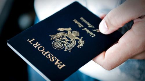 Pașaport de Statele Unite