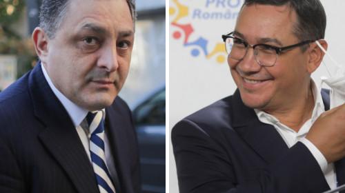 Marian Vanghelie și Victor Ponta