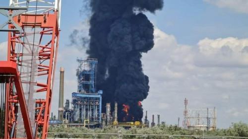 Explozie cu incendiu la Petromidia Năvodari