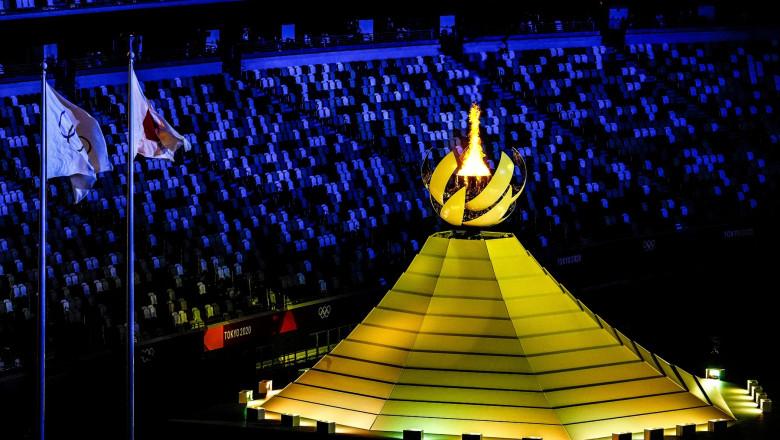 Opening Ceremony, National Stadium, Tokyo Olympic Games 2020, Japan - 23 Jul 2021