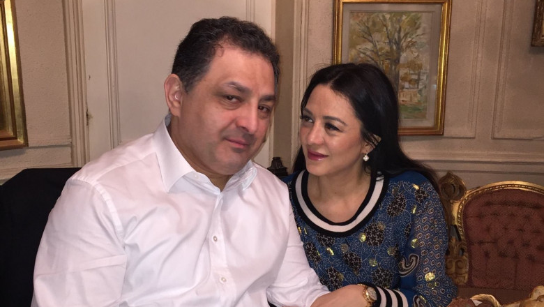 Marian Vanghelie cu Oana Niculescu Mizil