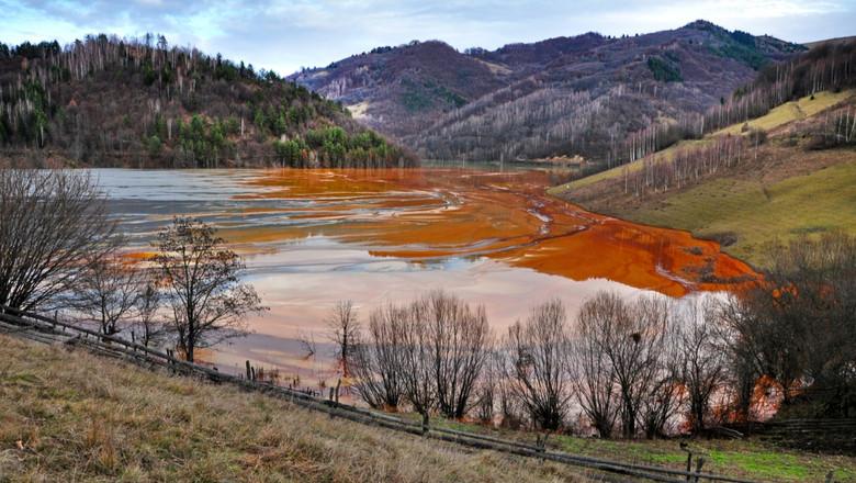 Roșia Montană, poluare