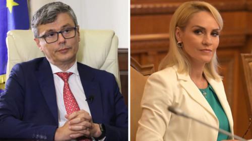 Virgil Popescu și Gabriela Firea