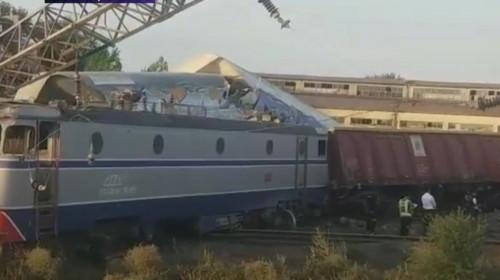 Accident feroviar la Fetești