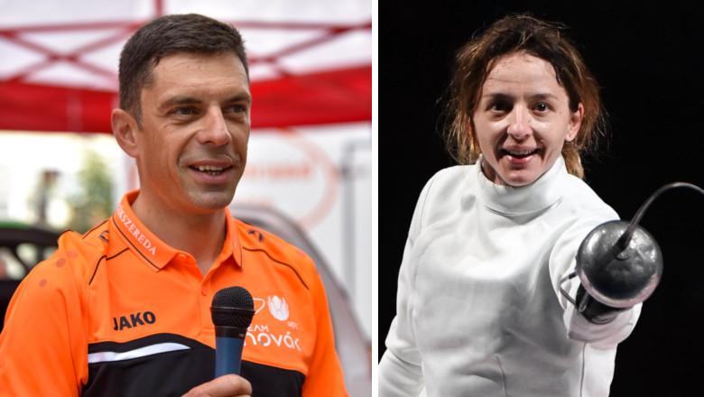Eduard Novak cu Ana Maria Popescu