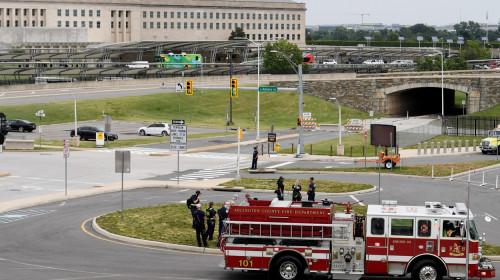 Polițiști și pompieri la sediul Pentagonului din cauza unui atac armat