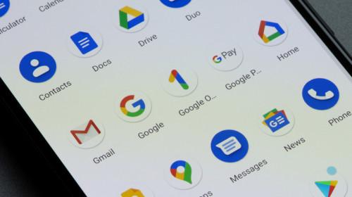 Aplicații Google pentru smartphone cu Android, YouTube, Gmail, Maps, Google Home, telefon mobil