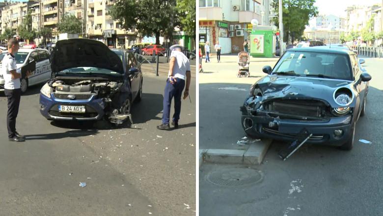 Accident rutier în București