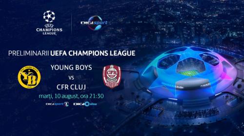 CFR Cluj - Young Boys_comunicat
