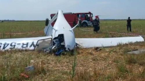 Avion prăbușit la Chitila