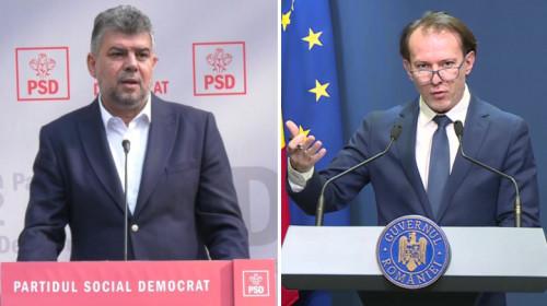 Marcel Ciolacu și Florin Cîțu